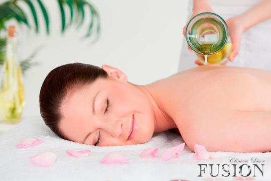 En el centro Láser Fusión Vitoria conseguirán que te relajes como nunca con los masajes Samsara de 50 minutos con aceites esenciales