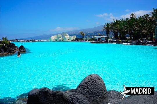 Vuelo directo desde Madrid a Tenerife + 7 noches en media pensión ¡Salidas en octubre y noviembre!