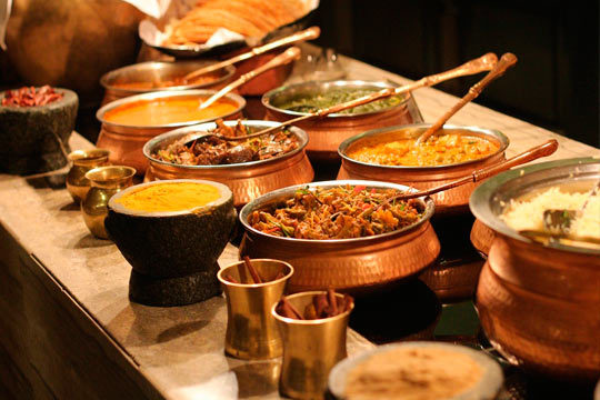 Menú hindú de degustación ¡8 platos de la mejor gastronomía india!