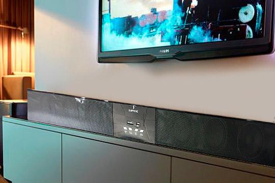 Ya puedes disfrutar de una buena sesión de televisión en casa con esta barra de sonido Bluetooth ¡Con envio a domicilio!