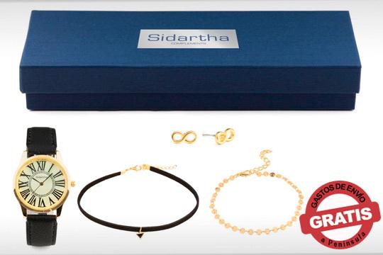 Caja combinada de joyas y accesorios para ti o para regalar ¡Consigue un estilo uniforme en tu total look!
