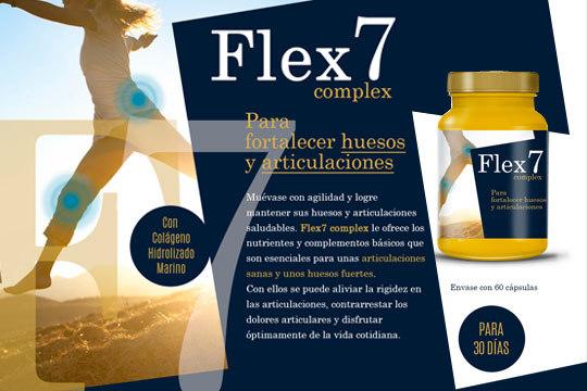 Flex7 Complex con Colágeno Marino