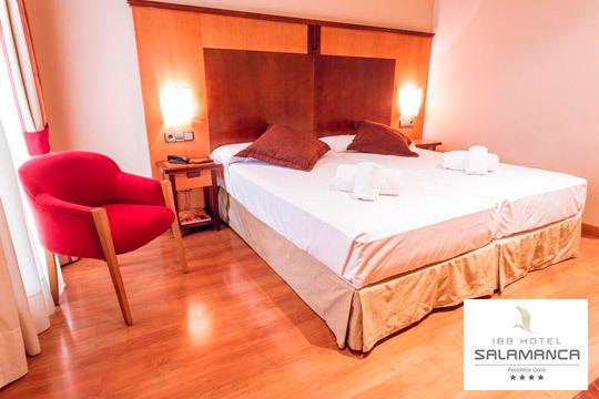 Escapada a Salamanca en el hotel IBB Recoletos ¡Disfruta de 1 o 2 noches con desayunos + detalle de bienvenida!
