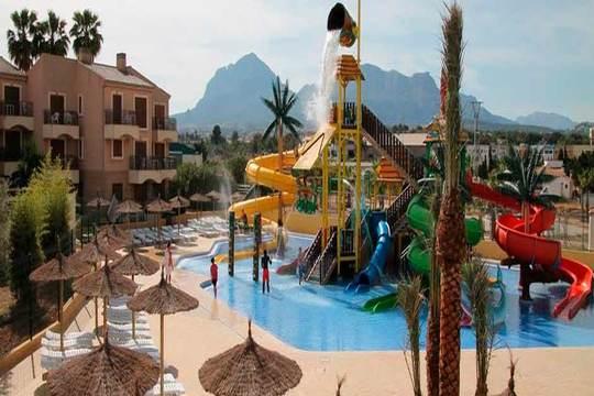 Disfruta de 4 o 5 noches en un apartamento para 4 personas de Albir Garden de la Costa Blanca ¡con parque acuático en sus instalaciones!