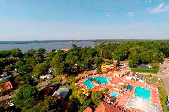 Disfruta de un fin de semana en las Landas en mobilhome en el camping Camping Punta lago/Lou Puntaou ¡En septiembre!