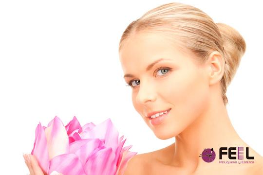 Presume de un cutis suave y libre de imperfecciones gracias a una limpieza facial profunda con ultrasonidos en Feel Peluquería y Estética