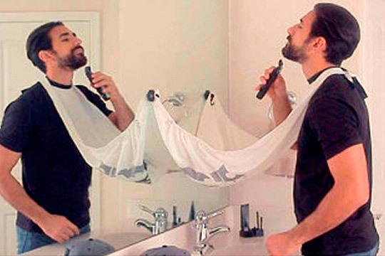 Cubierta Recogepelo para Corte de Barba