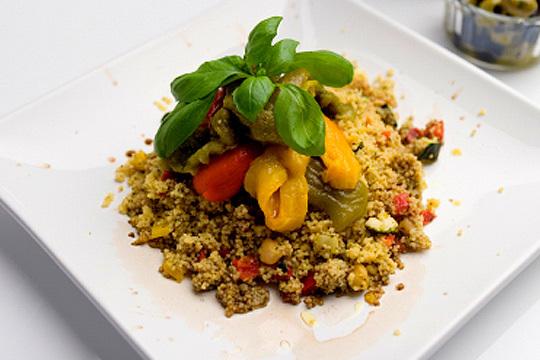 Menú árabe de 7 platos en el rest. del Norte HalaL, junto al Guggenheim
