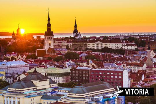 Descubre la belleza de Estonia y Letonia con un maravilloso circuito de 5 días y 4, con vuelo y excursiones ¡Con opción a régimen de solo desayuno o todo incluido!