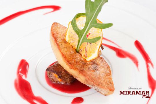 Degusta un delicioso menú con platos de la mejor calidad en el restaurante Miramar de Artxanda