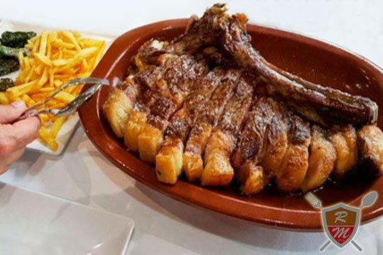 Menú degustación con txuletón de buey en el Restaurante Rafael Merlo ¡Cocina de autor realizada en los fogones de la tradición!