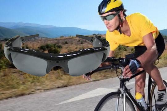 gafa solar con videograbación