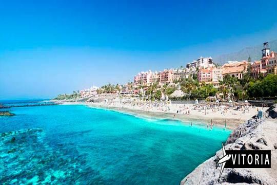 Julio a Tenerife: Vuelo de Vitoria + 7 noches en estudio ¡Junto a la playa!