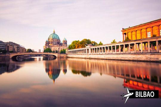 Descubre Berlín con la estancia de 4 noches con desayunos en el hotel Tiergarten ¡Y vuelo con escala desde Bilbao!