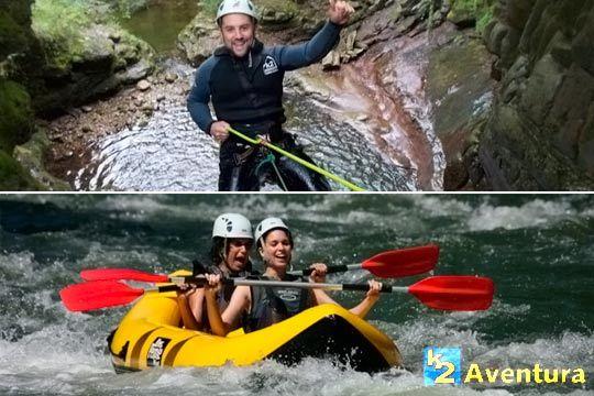 Elige la actividad más atrevida: barrancos, rafting, espeleología, puenting... ¡Con reportaje fotográfico incluido!