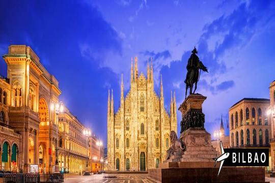 ¡Última hora a Milán! Vuelo de Bilbao + 4 noches con desayuno