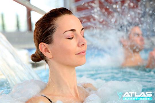 Rélajate en el Atlas Aqua Center con un completo circuito Spa ¡Para 1 o 2 personas!
