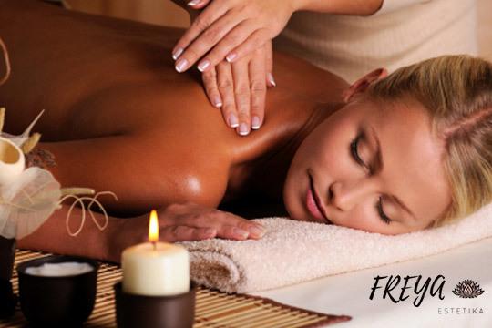 Masaje relajante de espalda y cuello ¡Con velas y aromaterapia!