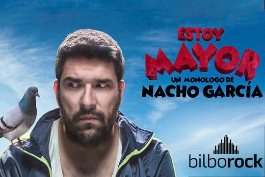 Disfruta del nuevo monólogo de Nacho García el 9 de noviembre en Bilborock ¡No pares de reír con