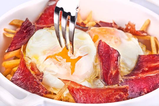 Menú de 6 o 7 recetas en El Nogalón de Arenas de Iguña, Cantabria