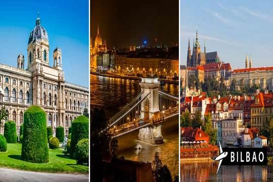 Julio: Circuito por Budapest, Viena y Praga desde Bilbao