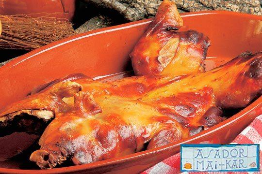 Menú con cochinillo o cordero en horno de leña ¡Sabores de siempre!