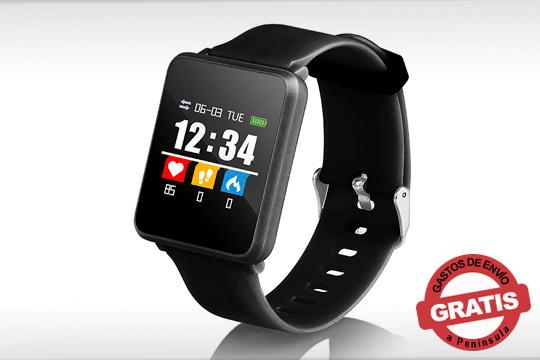 Monitorea tu actividad diaria con este smartwatch ligero, deportivo y funcional ¡Incluye podómetro, contador de pasos, calorías y mucho más!