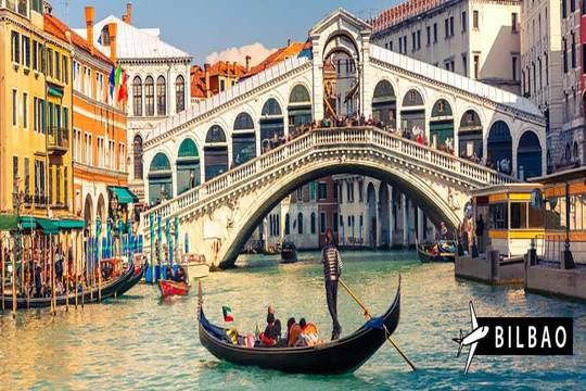 Semana Santa y Puente de Mayo a Venecia: Vuelo de Bilbao + 4 noches