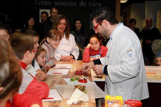 Colectivia educachef curso de cocina de 1h y 30mins for Cursos de cocina para ninos en madrid