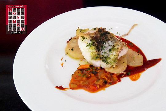 Menú degustación en el restaurante Izarza Jatetxea de Sondika ¡Calidad a la mesa!
