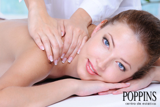 Relájate con 1 o 3 sesiones de masajes Shiat-Bliss de Poppins ¡60 minutos que te ayudarán a desconectar del mundo!