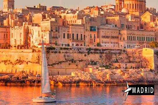 El Puente de diciembre viaje especial a Malta con 7 noches en hotel con desayuno y vuelo desde Madrid