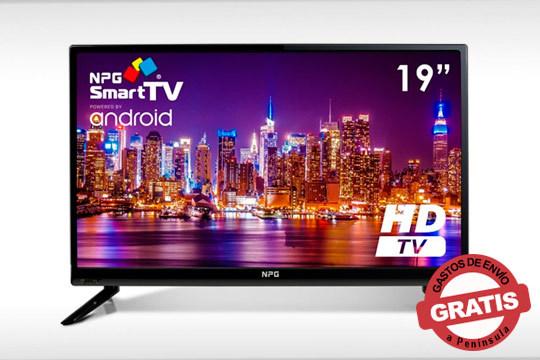 Disfruta de tus series y películas favoritas con esta Smart Tv Android de 19 pulgadas y calidad HD ¡Sencilla de utilizar!