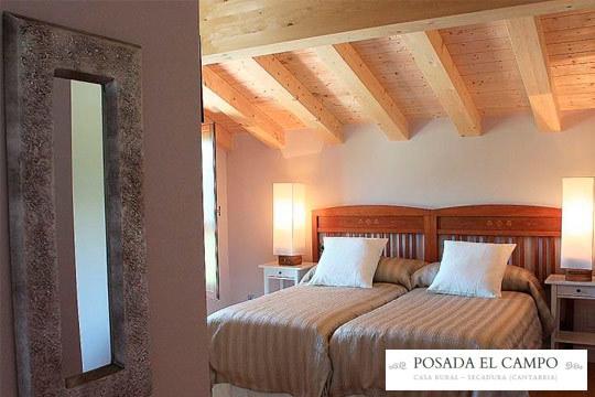 1 o 2 noches con encanto en la posada El Campo de Cantabria ¡En pleno Parque Natural de las marismas de Santoña!