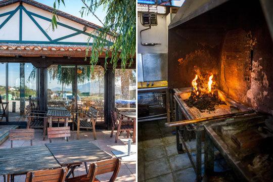 ¡Disfruta de un delicioso menú con unas vistas privilegiadas en Kurtze Beko! Menú con dos entrantes, plato principal a la brasa y bebida