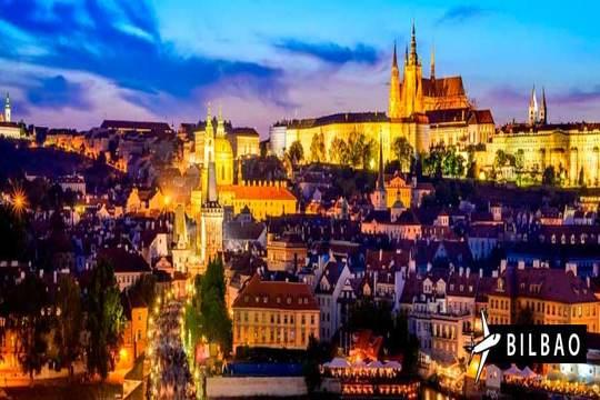 ¡Descubre Praga! Vuelo directo de Bilbao + 3 noches con desayunos