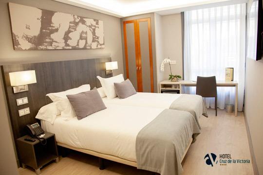 Descubre Asturias con 1 o 2 noches con desayuno en el hotel Cruz de la Victoria 4* ¡Incluye acceso a su gimnasio de última generación!