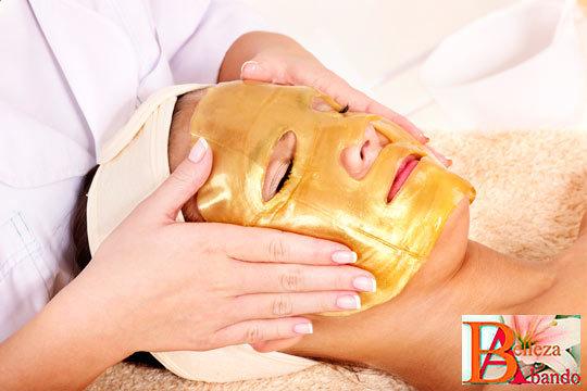 Facial de oro con Mesoterapia efecto lifting en Abando Belleza ¡Experimenta los beneficios del oro en tu rostro!
