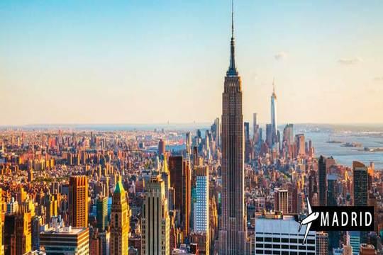 Julio a Nueva York: Vuelo de Madrid + 7 noches en hotel