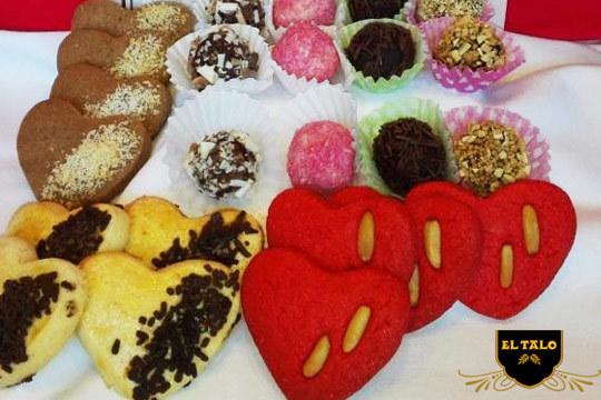 En estas fechas no pueden faltar los dulces en tu mesa ¡Elige tus 31 piezas con o sin azucar!