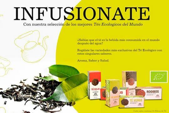 Regálate las variedades más exclusivas del té Ecologico con estos singulares sabores ¡Aroma, Sabor y Salud!
