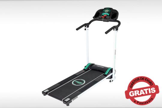 Haz ejercicio cómodamente en casa con la cinta de correr Runfit Step Black ¡12 programas de entrenamiento y 4 velocidades!