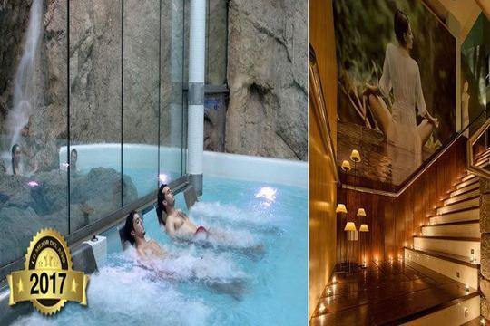 Circuito Spa termolúdico para 2 personas por 43€ en Balneario Hermida