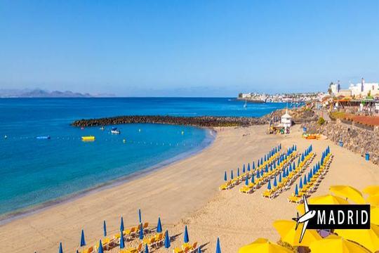 Vuelo a Lanzarote desde Madrid + 7 noches en MP en 4*