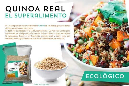 Quinoa real, el superalimento