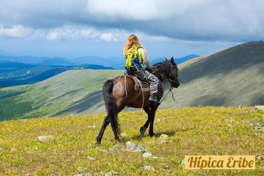 Disfruta de la naturaleza con este paseo a caballo de 1 hora de duración en Hípica Eribe ¡Cabalga por el Gorbea!