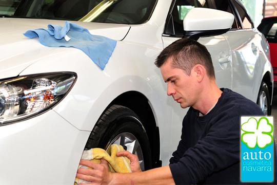 ¡Vehículo inmaculado! Limpieza integral totalmente ecológica en Auto Cosmética Navarra