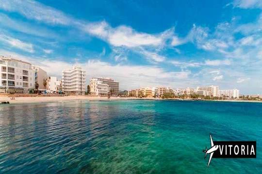 Verano en Mallorca con vuelo de Vitoria + 7 noches en MP