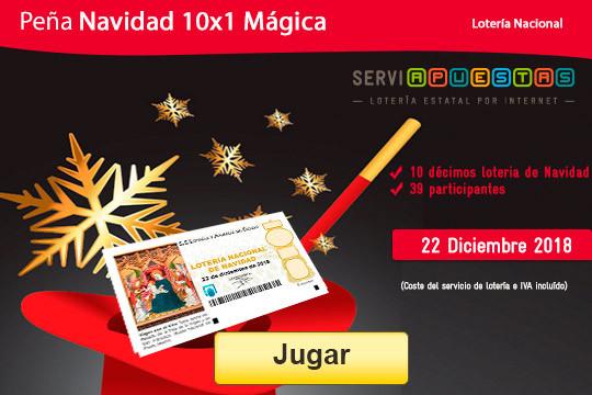 Todas las navidades la lotería de Navidad reparte cientos de premios, multiplica tus opciones de ganarlos con este pack de 10 números ¡Este es tu año!