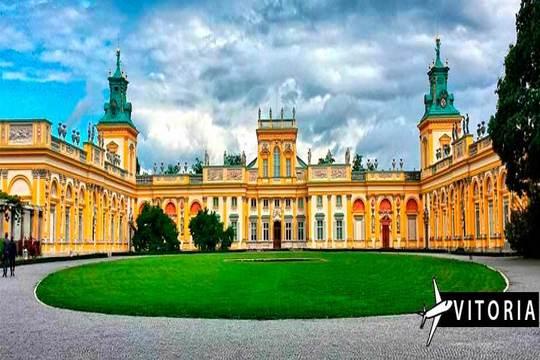 Julio en Polonia: Vuelo de Vitoria + circuito 10 días ¡Y excursiones!